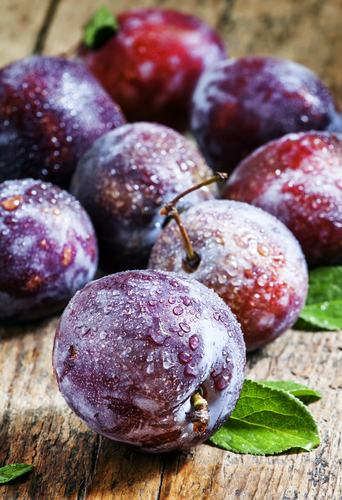 Plum and Nutrition